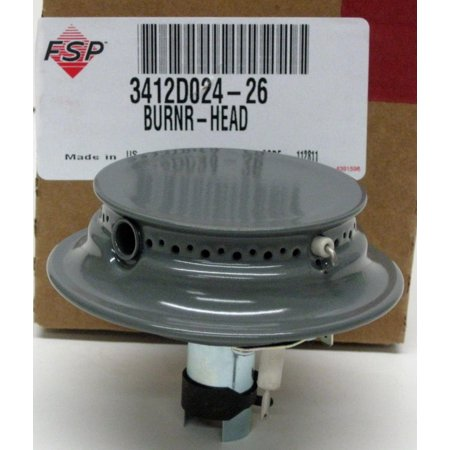 3412D024-26 Whirlpool Gas Range Grey Sealed Burner also for Maytag Magic