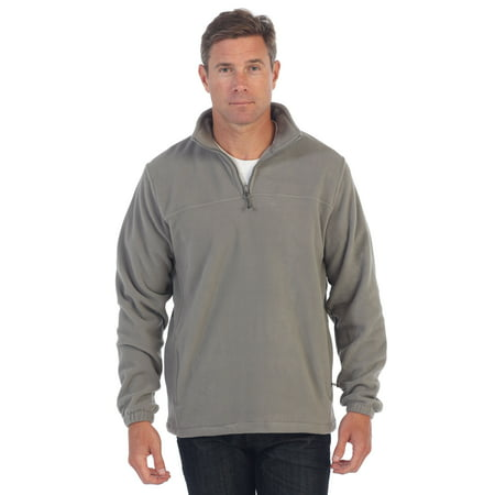 Gioberti Mens Half Zip Polar Fleece