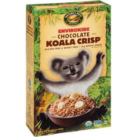 EnviroKidz Organic Chocolate Koala Crisp Cereal, 11.5 Ounce Boxes