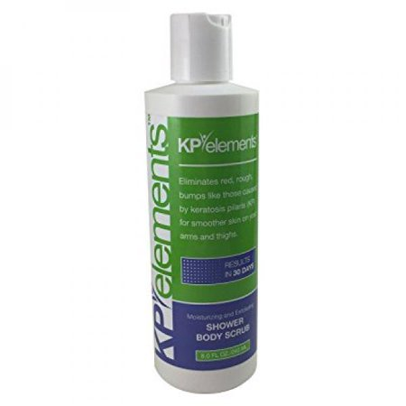 KP Elements Body Scrub - Keratosis Pilaris Treatment - Clear up Red Bumps on Your Arms and Thighs by combining this KP Scrub with Our KP Treatment Cream