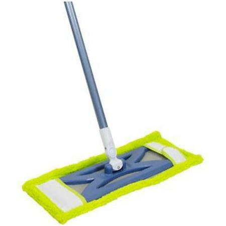 Mop Hard Floor - Microfiber Hardwood Floor Mop For All Hard Floor Surfaces Use Wet Or D Only One