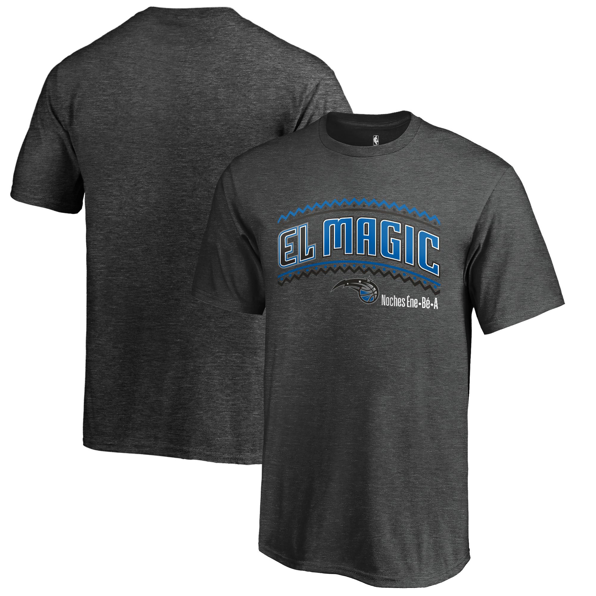 Orlando Magic Fanatics Branded Youth Noches Ene-Be-A T-Shirt - Heather Gray