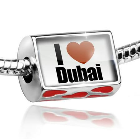 Bead I Love Dubai region: United Arab Emirates, Asia Charm Fits All European Bracelets