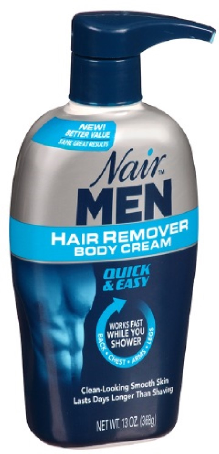 Nair For Men Hair Removal Body Cream 13 Oz Pack Of 3 Walmart