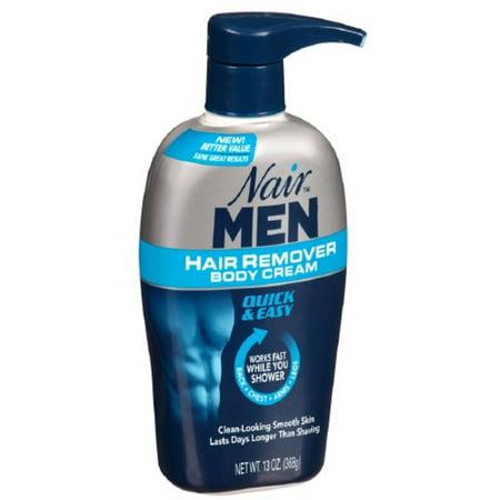 Nair For Men Hair Removal Body Cream 13 Oz Walmart