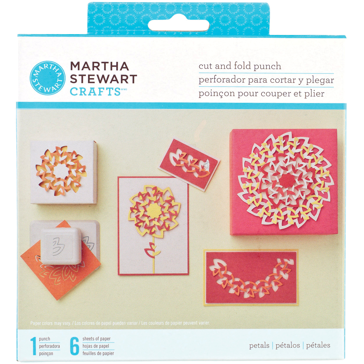 Martha Stewart Crafts Cut And Fold Punch You Choose Your Design 1 Punch 6 Paper Other Home Arts & Crafts Home Arts & Crafts