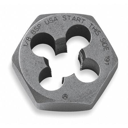 Hexagon Die,Carbon Steel,RH,M3,0.60mm VERMONT AMERICAN 21213