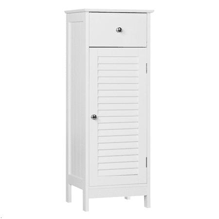 Wooden Storage Floor Cabinet for Bathroom, Living (Floor To Ceiling Cabinets For Living Room)