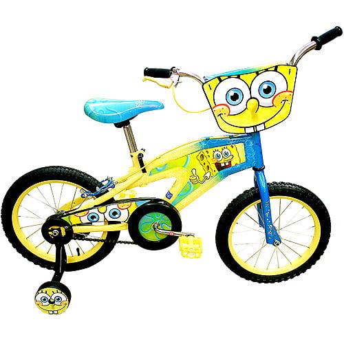 "SpongeBob SquarePants 16"" BMX Boys' Bike"