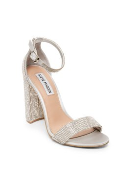 Steve Madden Carrson Rhinestone Heeled Sandal (Women's)