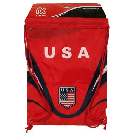 4ae83d7bec Team USA Official WORLD CUP SOCCER 18 inch x 13 inch Backpack Backsack by  Rhinox Group - Walmart.com