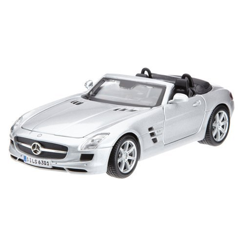 1:24 Scale Mercedes-Benz SLS AMG Roadster Diecast Vehicle (Colors May Vary), Approx. 7-1 2... by
