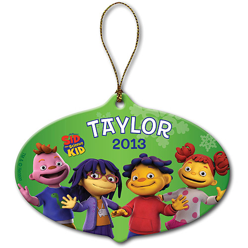 Personalized Sid the Science Kid and Pals Christmas Ornament