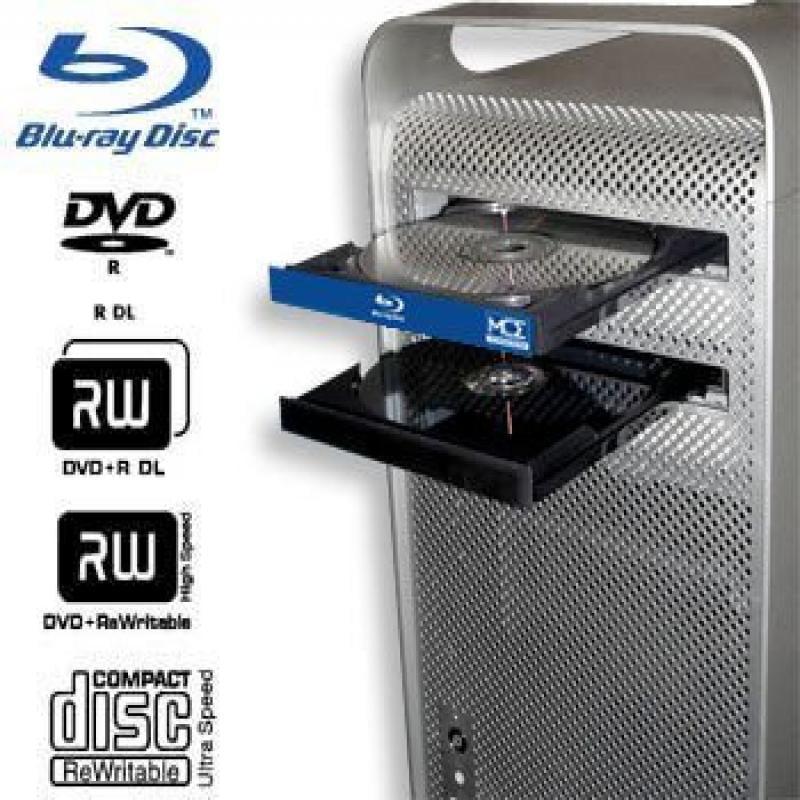MCE Mac Pro Blu-ray Drive: Internal Blu-ray Burner, Write...