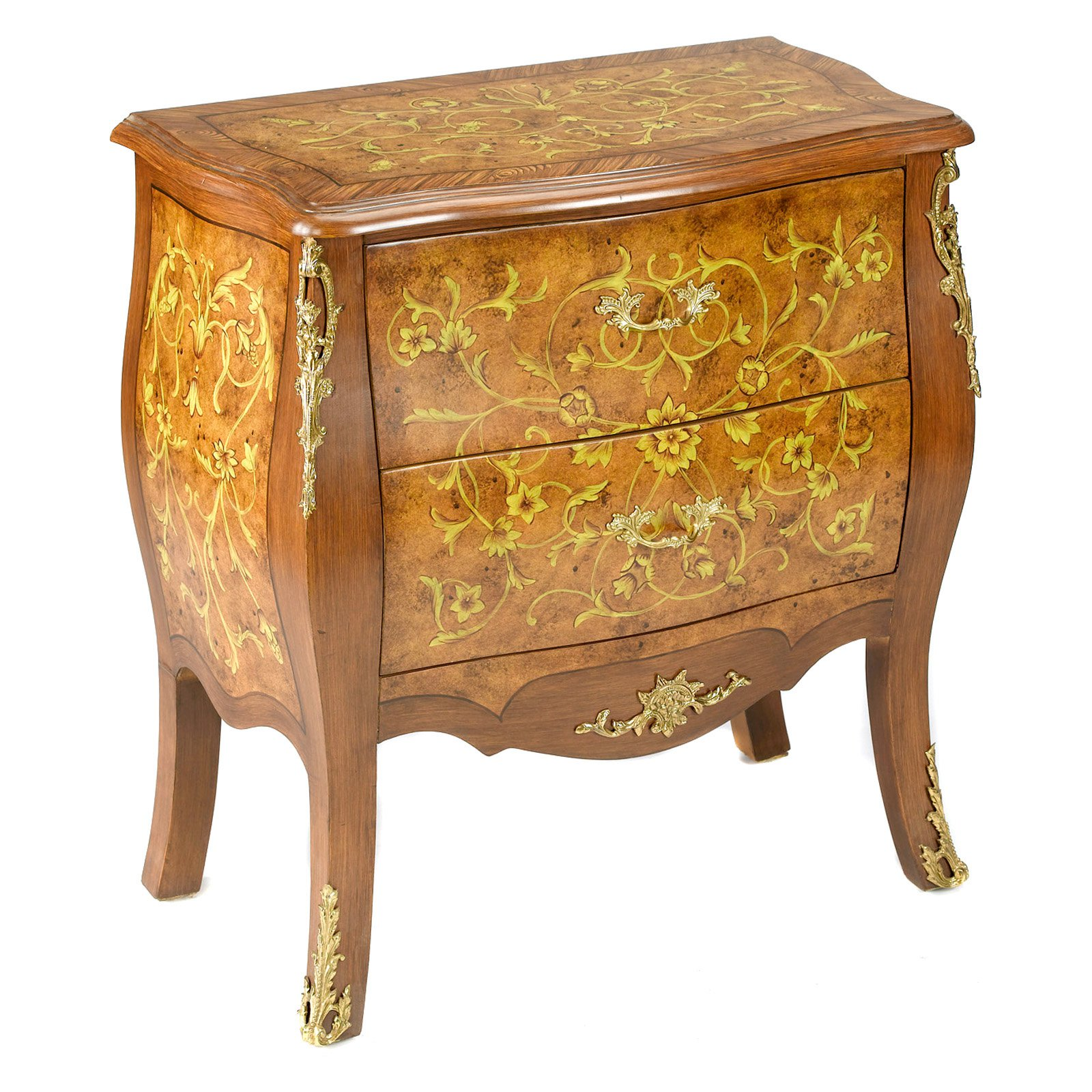 AA Importing 2 Drawer Bombay Chest by AA Importing