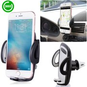 Universal Smartphone Car Air Vent Mount Holder Cradle for iPhone XS XS Max X 8 8 Plus 7 7 Plus SE 6s 6 Plus 6 5s 5 4s 4 Samsung Galaxy S6 S5 S4 LG Nexus Sony Nokia and More