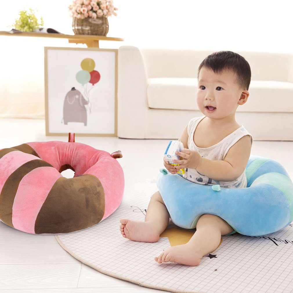 Comfortable Infant Newborn Baby Sofa Support Seat Soft Cotton Sofa Chair  Image 2 Of 7