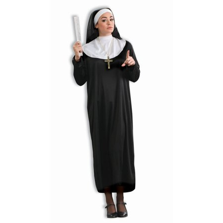Halloween Nun Adult Costume](Nun Halloween Costumes Party City)