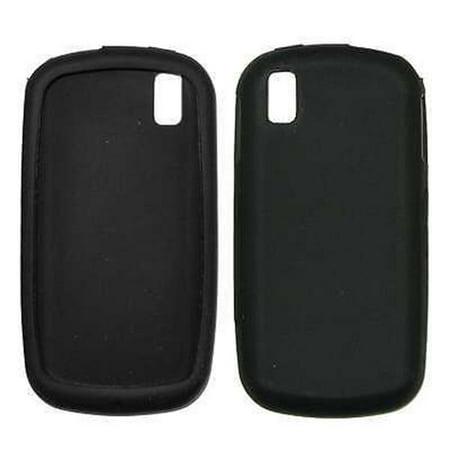 Black Soft Silicone Gel Skin Cover Case for Samsung Instinct S30 M810 [Bulk Packaging]