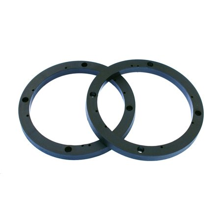 "DNF 1 Pair 6.5"" (6 1/2"") Universal Speaker Spacer Rings 1"" Depth .5"""