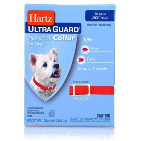 Ultraguard Flea Amp Tick Dog Collar 20 Quot Red 1 Ea Walmart Com