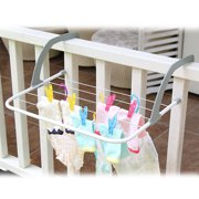 Multifunction Indoor & Outdoor Folding Clothes Rack Drying Laundry Hanger Dryer - White S