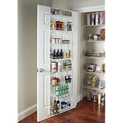 gracelove over the door spice rack wall mount pantry kitc...
