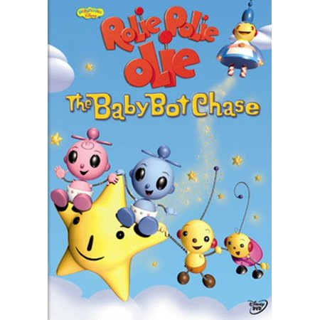 Rolie Polie Olie: The Baby Bot Chase (DVD) (Rolie Polie Olie Halloween Dvd)