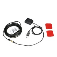 Car Signal Antenna Amplifier Booster with Receiver + Transmitter 30DB for Phone Navigator