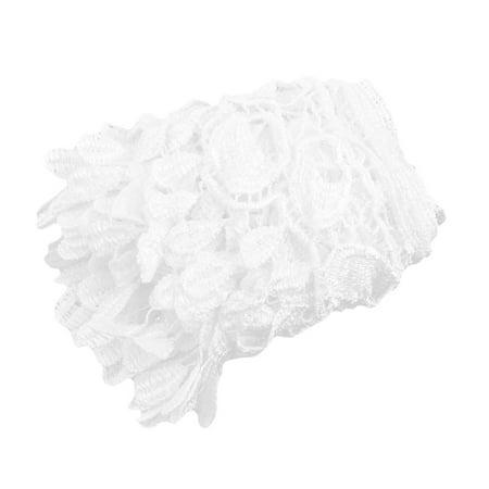Polyester Tassel Decor Sweater Ornament Lace Trim Applique 3.7 Inches Width - image 3 de 3