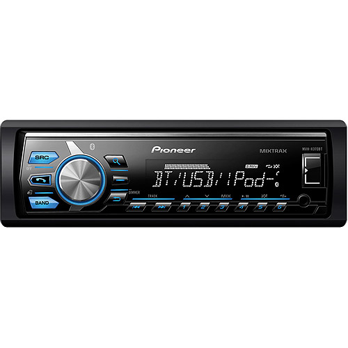 Pioneer MVH-X370BT In-Dash Digital Media Receiver with Built-in Bluetooth