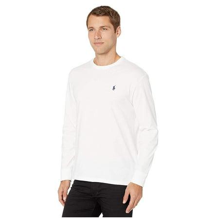 Ralph Lauren Mens Classic Fit Basic T-Shirt white M