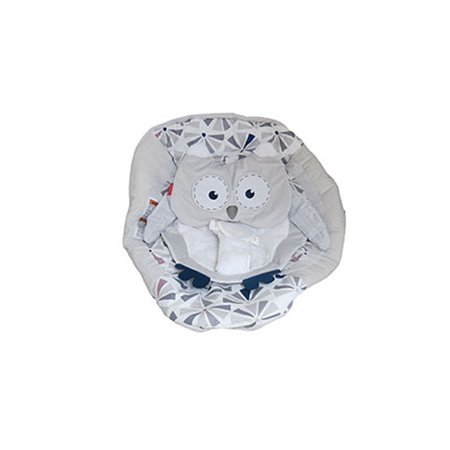 Deluxe Bouncer - Fisher-Price Infant Deluxe Baby Bouncer FMD23 - Replacement Infant Support Pad - Owl Print