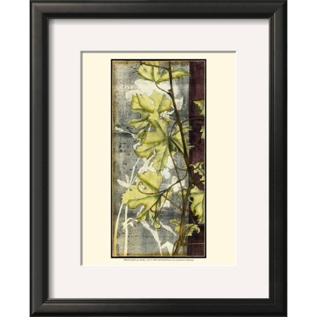 Leaf Medley I Framed Art Print Wall Art By Jennifer Goldberger ...