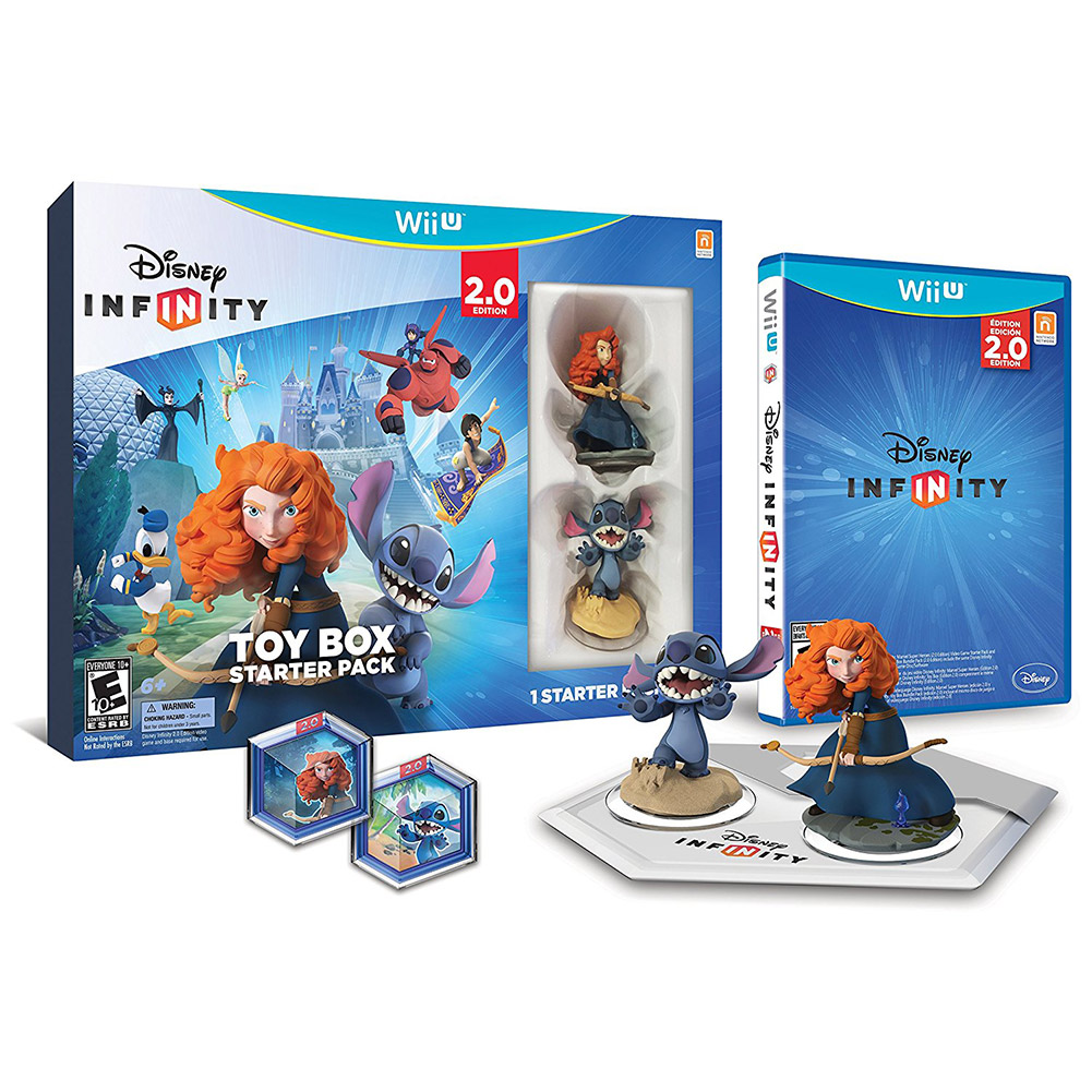 Disney Infinity 2.0: Toy Box Starter Pack - Wii U