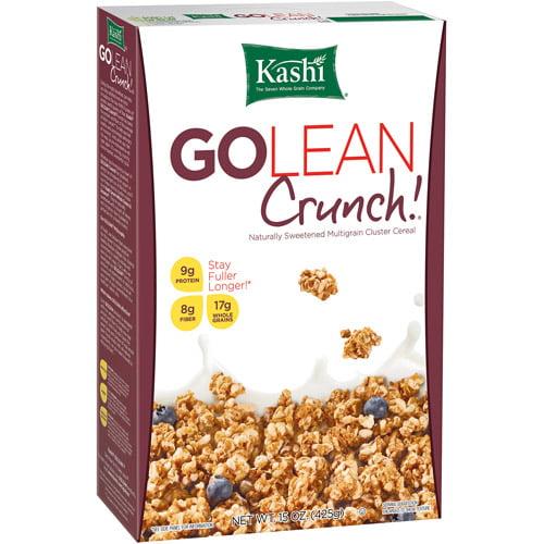 Kashi GoLean Organic Crunch Protein & High Fiber Cereal, 15 oz