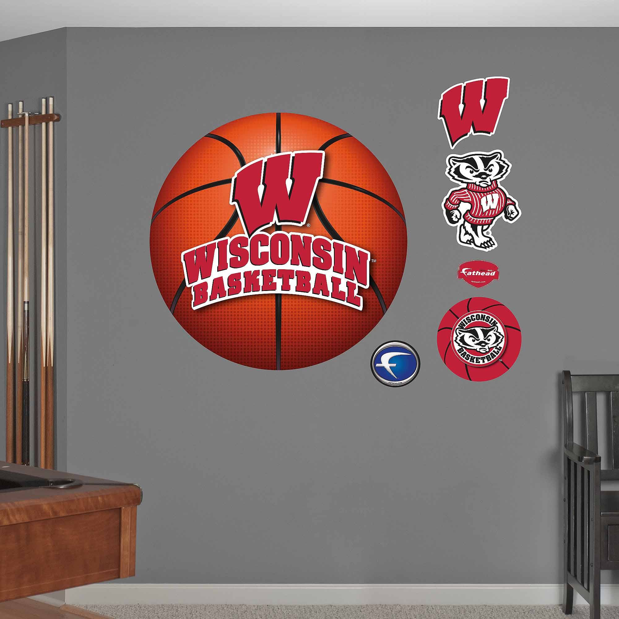 University of Wisconsin Basketball Logo
