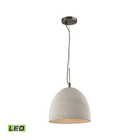 - Pendants 1 Light LED With Black Nickel Finish Medium Base 12 inches 9.5 Watts - World of Lamp
