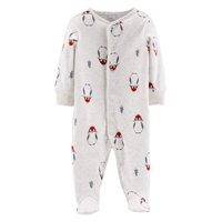 Little Planet Organic Long Sleeve Christmas Snap-Up Sleep 'N Play (Baby Boys or Baby Girls, Unisex)