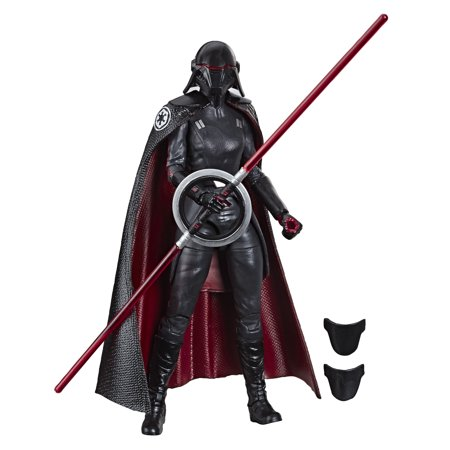 Star Wars Inquisitor (Star Wars The Black Collection Second Sister Inquisitor Toy Action)