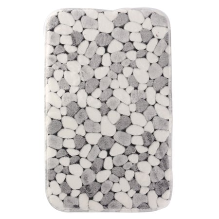 Soft Garden Floor Rug Door Carpet Bath Bedroom Home Kitchen Shower Mats Non-slip,Stone color