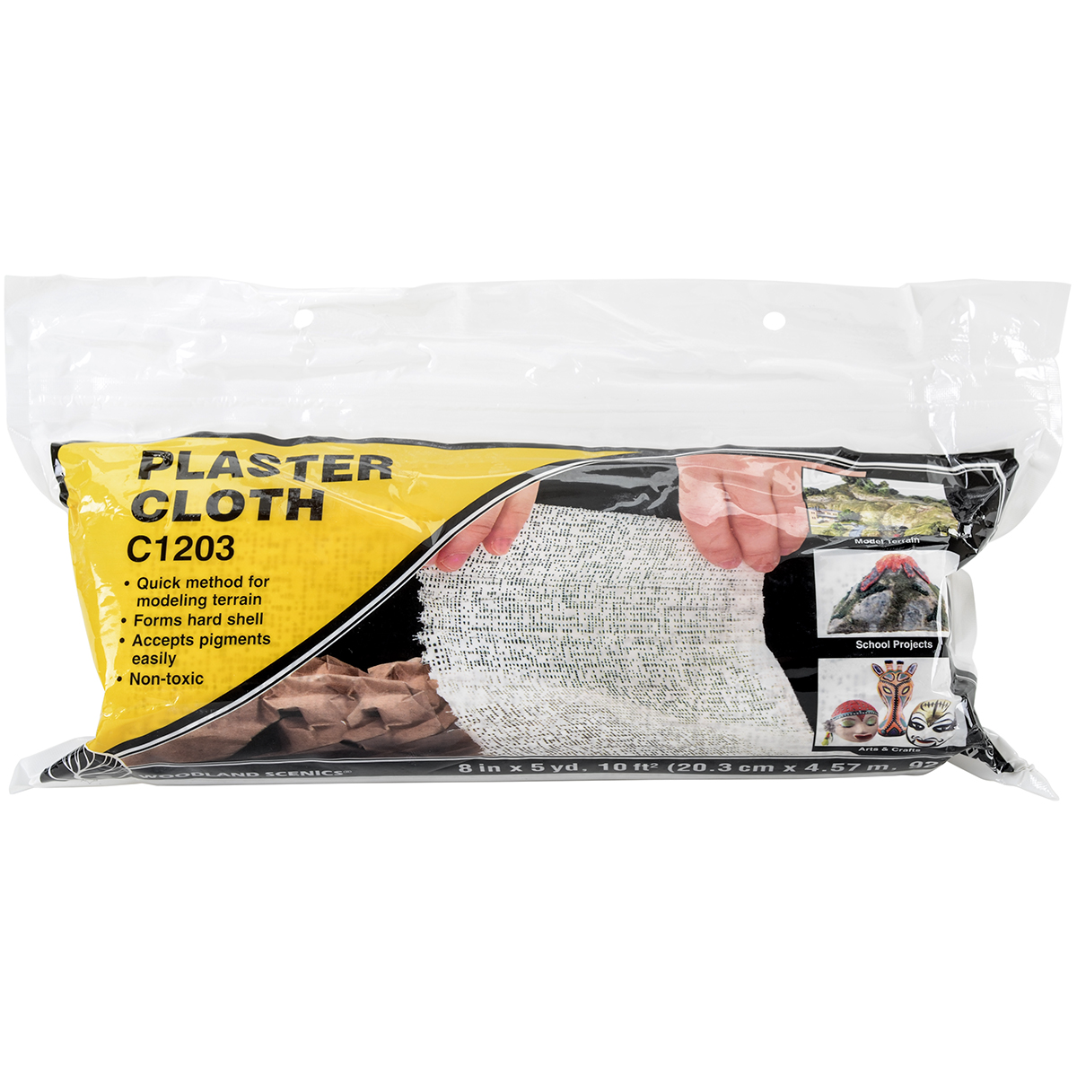 "Plaster Cloth Roll, 8"" x 180"""
