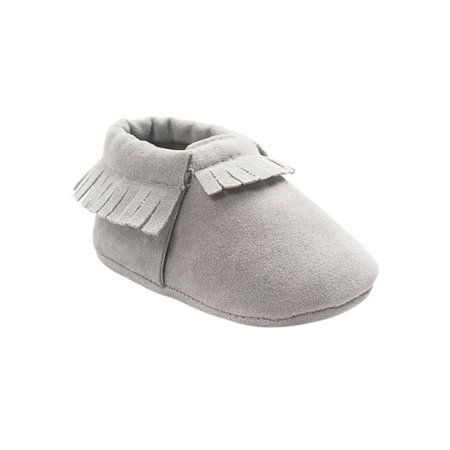 Infant Cute Baby Kids Boys Girls Soft Crib Tassel Leather Shoes (D Roses Shoes Youth)