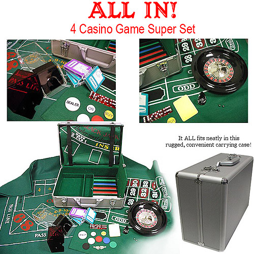 casino games set