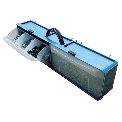 Crawford PB2 Multi Bin Portable Pegboard Parts Organizer