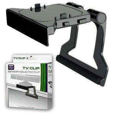 Kinect Sensor TV Mount Clip Bracket Black (1 Pack)