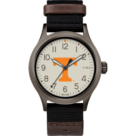 Timex - NCAA Tribute Collection Clutch Men's Watch, University of Tennessee Volunteers