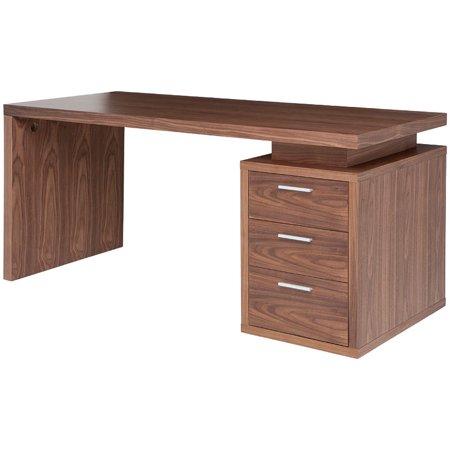 Nuevo Desk Walnut