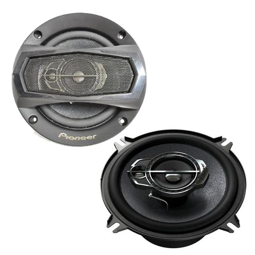 """Pioneer TS-575M 5.25"""" 300W max power (50W nominal) 3-Way Speaker Pair (Refurbished)"""