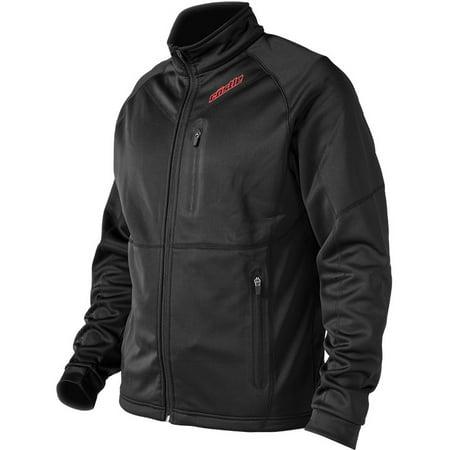 Castle X Fusion Mens Mid-Layer Snow Jacket Black LG (Fusion Motorcycle)